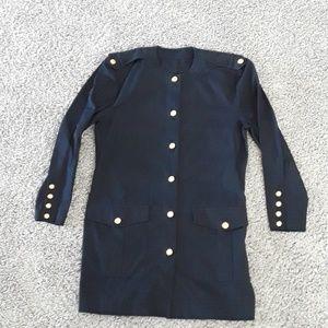 MONDI Jacket w/Gold Button Details